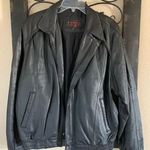 Doral 5th Ave Men's 80s leather jacket